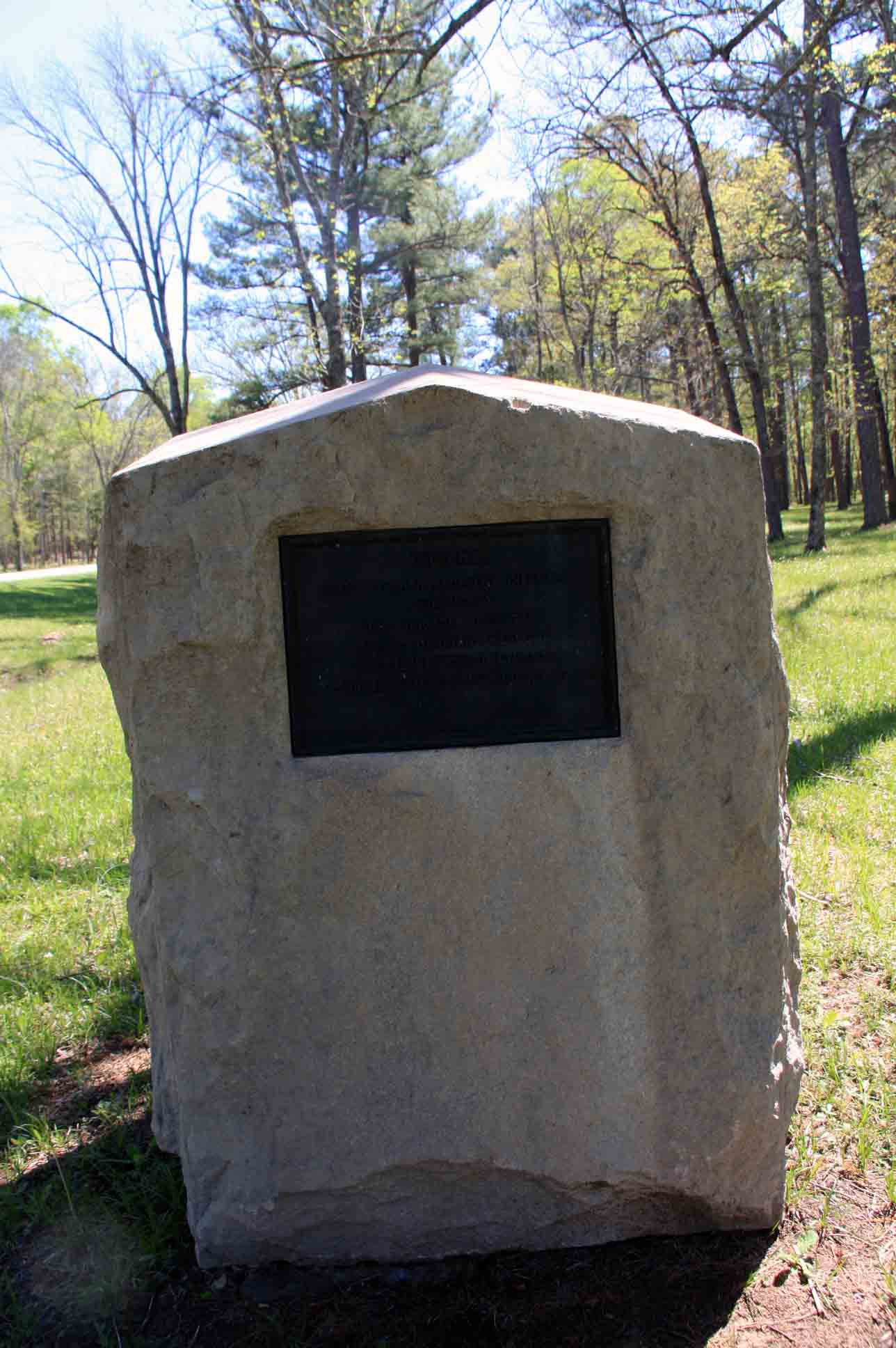 88th Indiana Infantry Regiment Marker, click photo to enlarge.