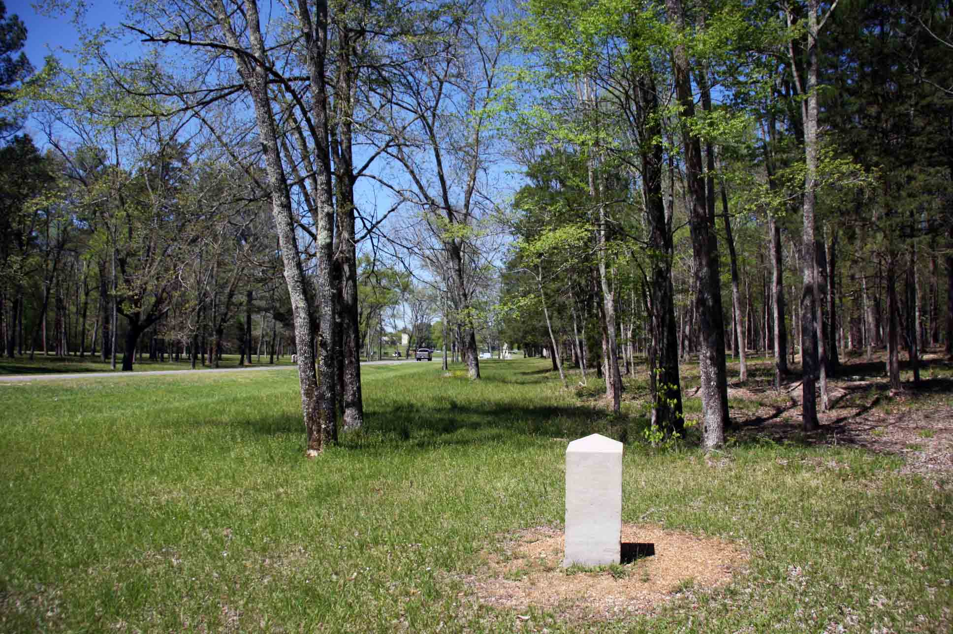 35th Ohio Infantry Regiment Marker, click photo to enlarge.
