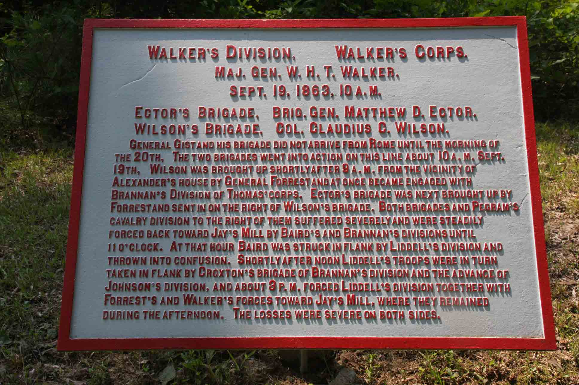 Walker's Division Tablet, click photo to enlarge.