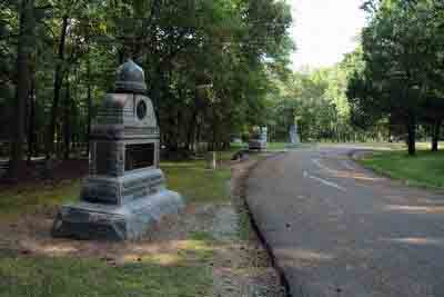 33rd Ohio Infantry Regiment Monument, click photo to enlarge.