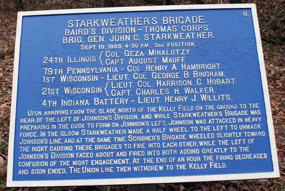 Starkweather's Brigade Tablet, click photo to enlarge.