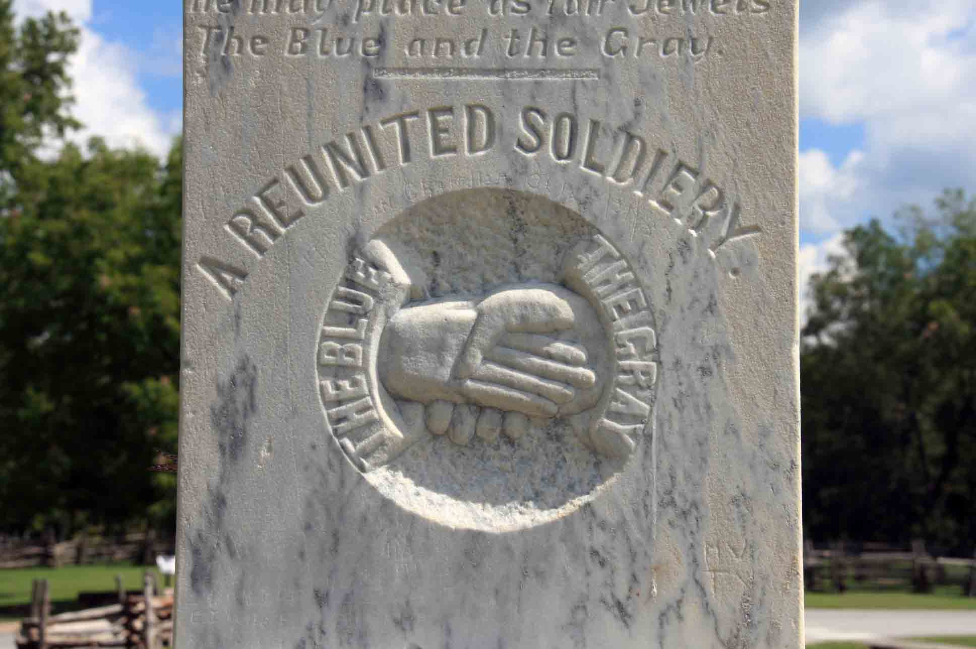 Reunited Soldiery Monument, click photo to enlarge.