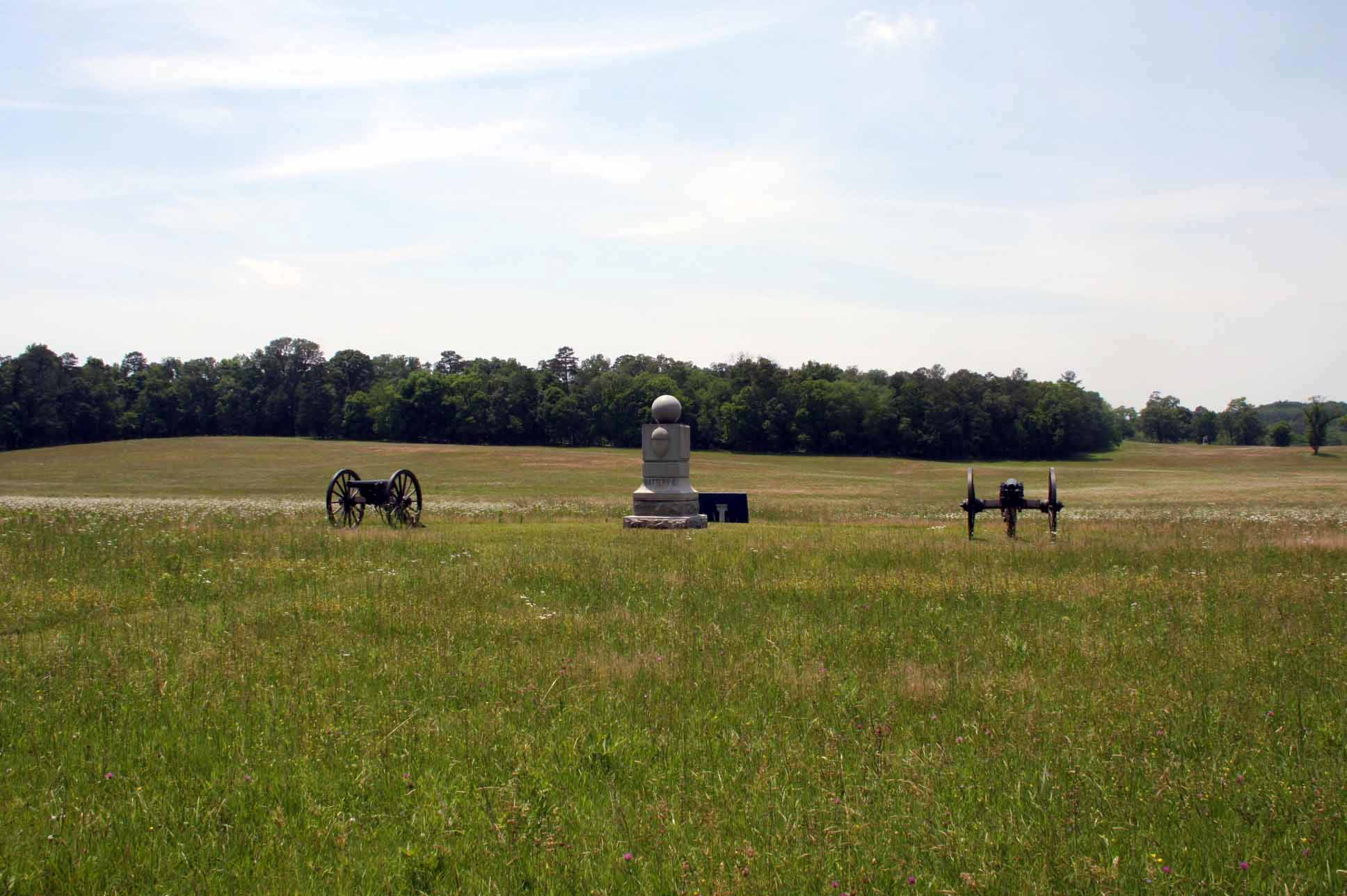 1st Ohio Light Artillery, Battery G, Monument, click photo to enlarge.