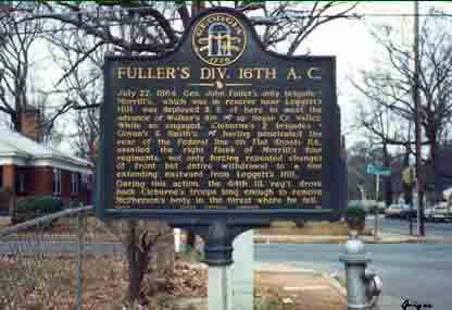 Fuller's Division 16th A.C., click photo to enlarge.