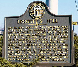 Leggett's Hill, click photo to enlarge.